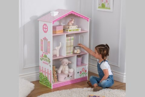 Best Dollhouse Bookcase Kidcraft