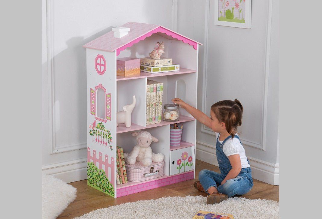 Best Dollhouse Bookcase Kidcraft