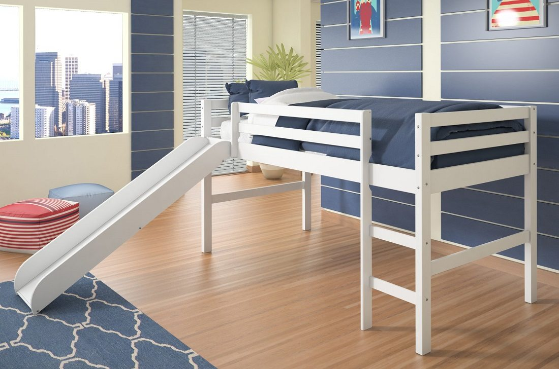 Best Loft Bed with Slide Donco