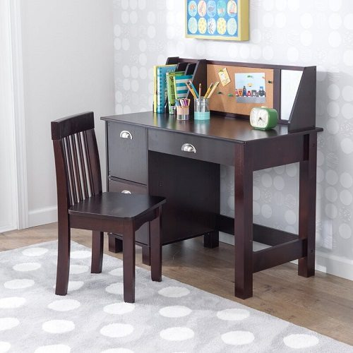 KidKraft Kids Writing Desk with Hutch and Chair Set